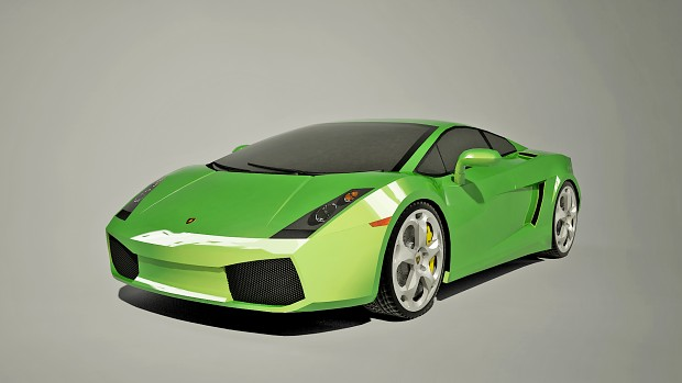 """Lamborghini Gallardo """"Green"""" wallpaper"""