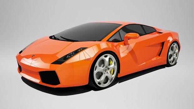 """Lamborghini Gallardo """"Orange"""" wallpaper"""