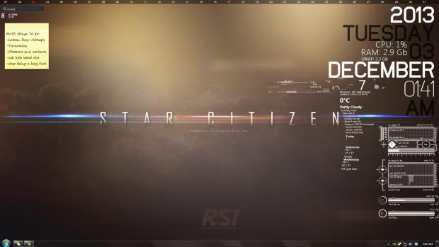 Current desktop background/rainmeter