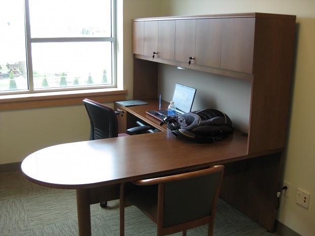 MJK Studio's tech incubator office space!