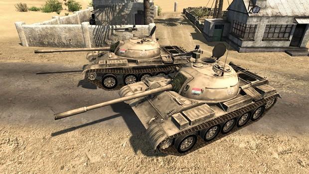 T-54 in Iraq markings