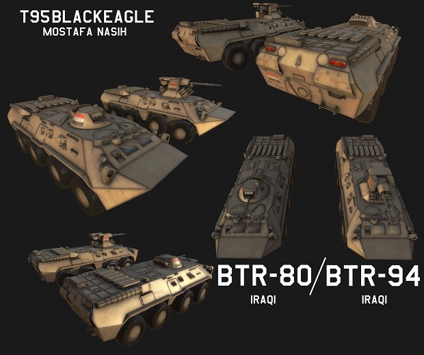 IRAQI btr-80 and btr-94