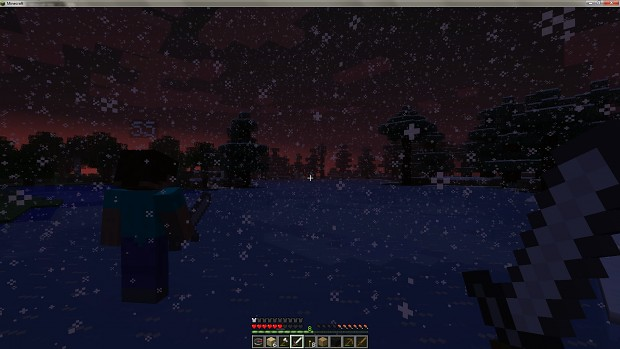 These beautiful moments in Minecraft...