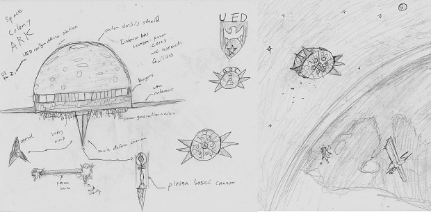 UED Space Colony ARK