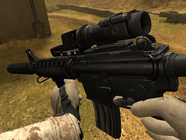 M4a1 Hybrid Sight M4a1 With Hybrid Sight