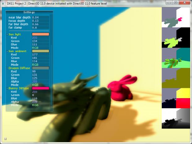 Deferred renderer