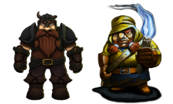 Pitman Dwarf Quest Comparison