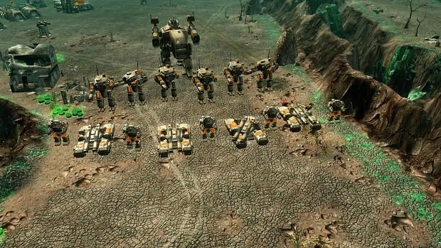 GDI army being badass