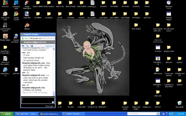 Current Screen setup