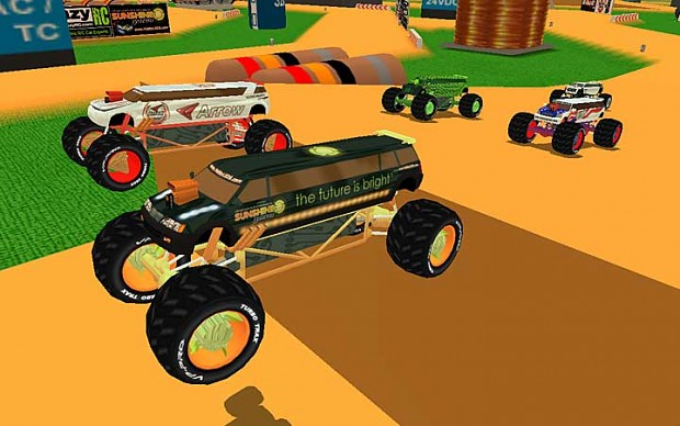 Monster Minis Extreme Off-Road Game Screen Shots
