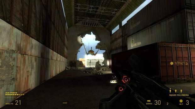 Ground Zero Strider Battle