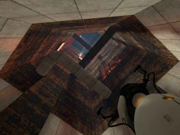 An old unfinished Portal map