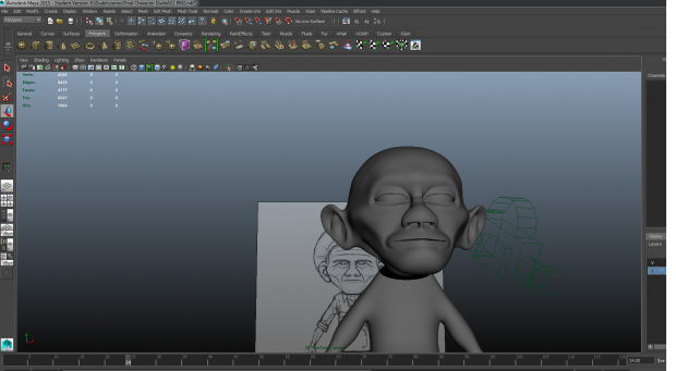 Character Model Dude.