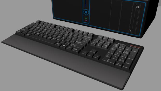 Keyboard finished