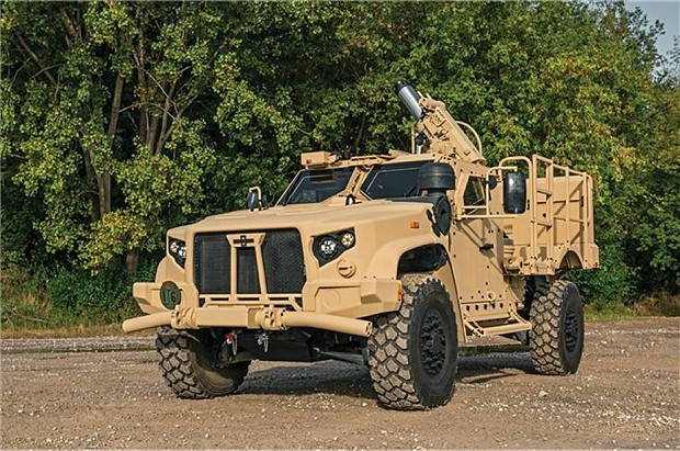 L-ATV -mortar carrier with SPEAR 120mm-USA