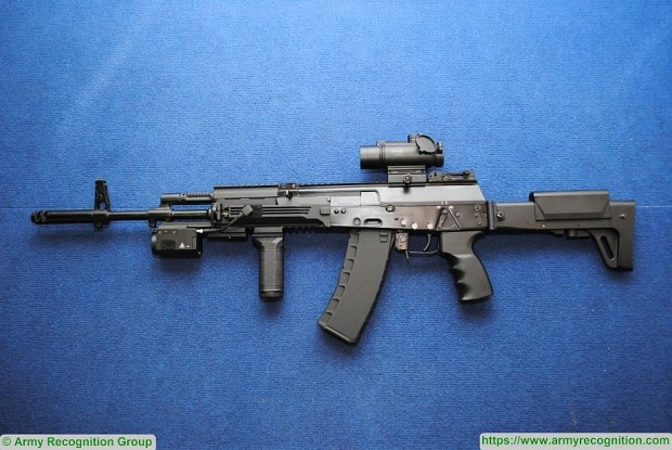 Russian Eastern district to be rearmed with AK 12 rifles