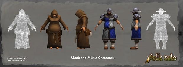 Folk Tale Character Art