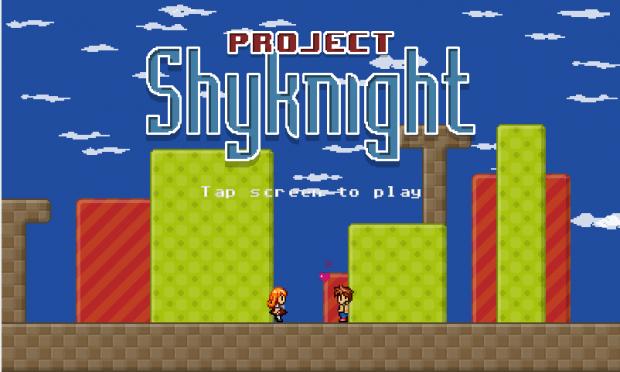 Project Shyknight main screen