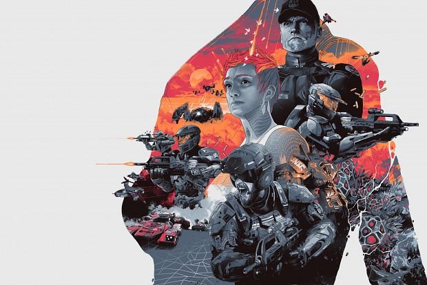 Halo Wars 2 Leaders Wallpaper