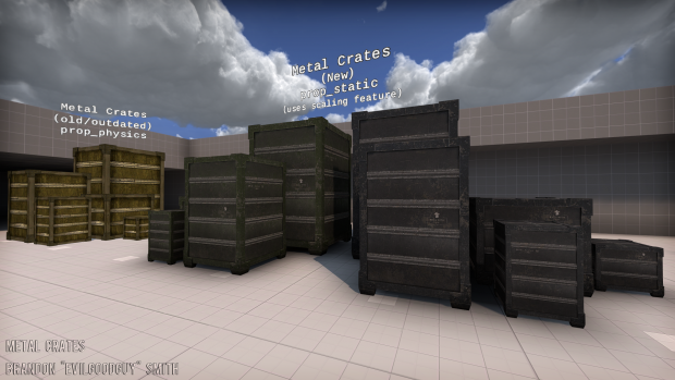 Metal Crates Ingame