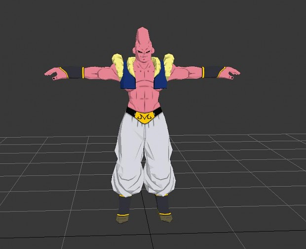 Majin Bou Fusion With Gotenks