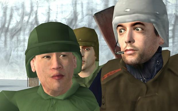 Commander Harper and his Crew