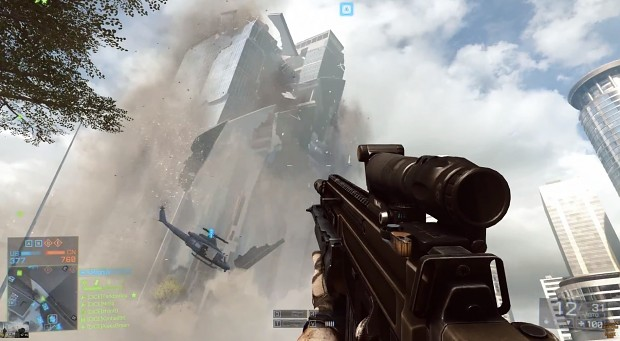 Battlefield 4 skyscraper