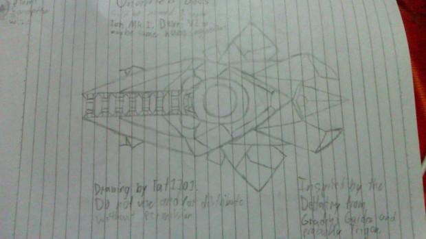 Titanius (Drawing)