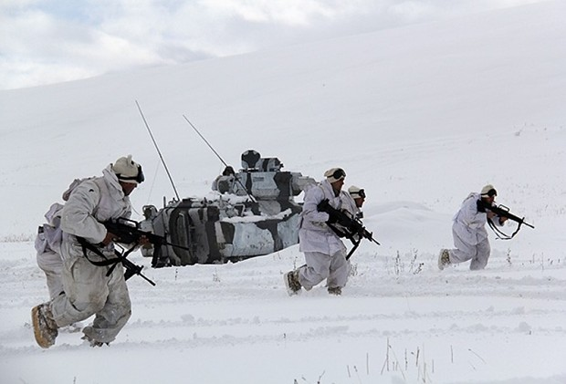 MPT-76 in Winter 2015 Exercise