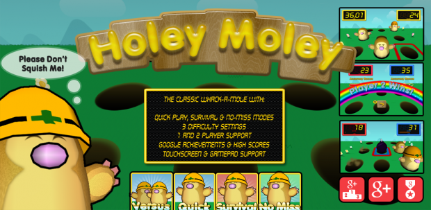 Holey Moley Screenshots