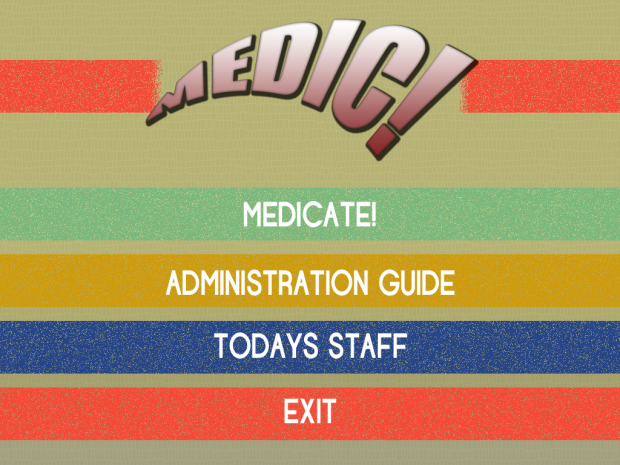 Screenshots of MEDIC! from explay 2012 game jam
