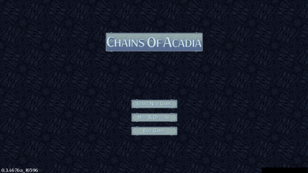 New main menu background