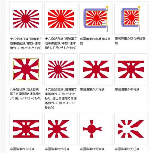 Sitemaps With Embed Option: 皇軍 軍旗 Image