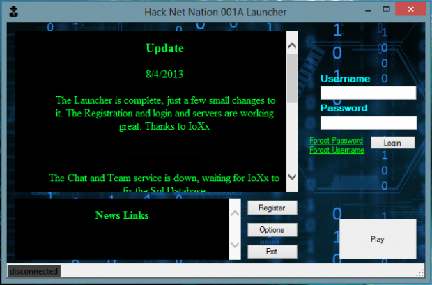 Hack net nation Launcher