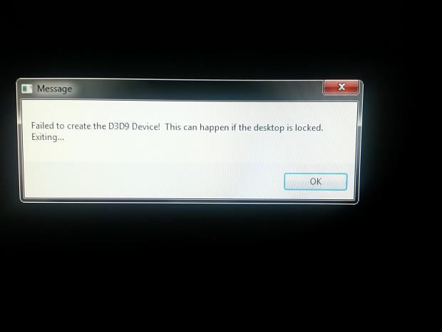"""Error Window When Loading """"Enola"""""""