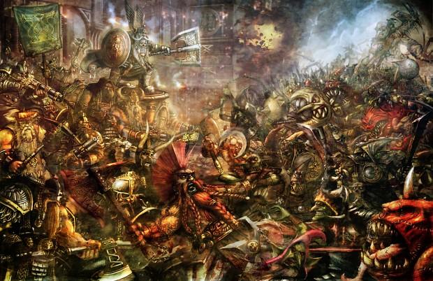 Dwarfs vs Goblins Battle