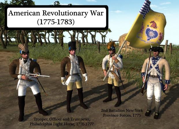 Philadelphia cavalry and New York regiment