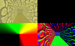 Deferred shading tests