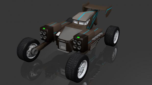 Rally Car Concept
