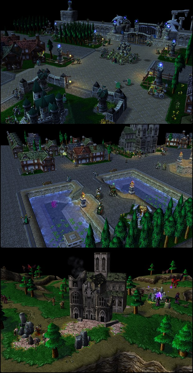 My old Warcraft 3 map