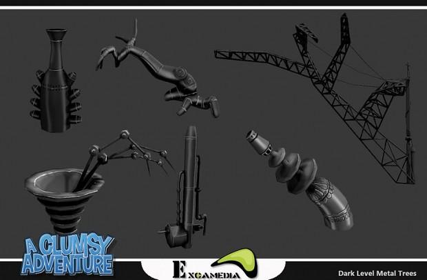 Development screenshots of pinterest