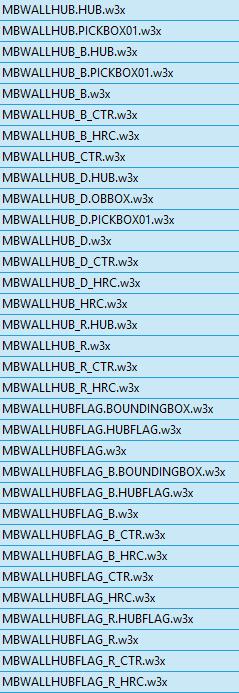 MBWallHub file list