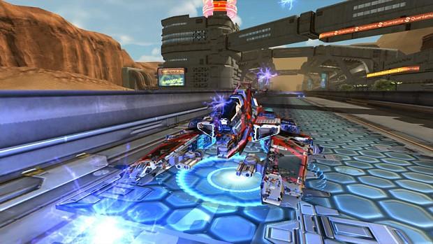 Quantum Rush Screenshots (Pre-Alpha)