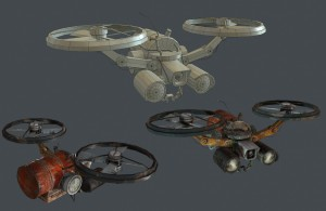 Rebel Drone - Final in game