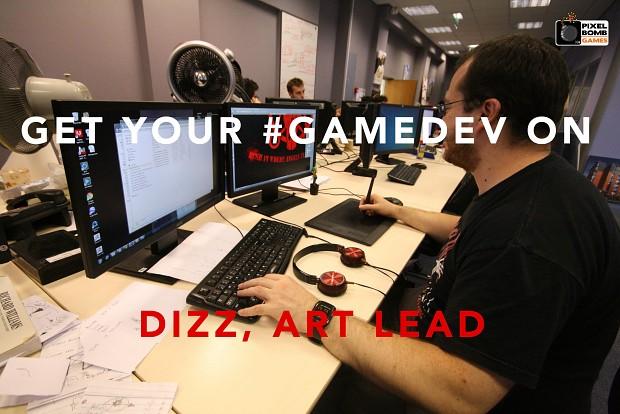 game dev dizz pixel bomb games