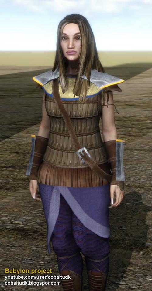 Milician female modular