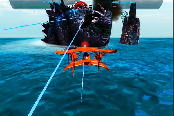Sky Battles - Sea Monster level