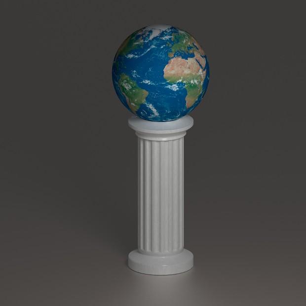 Earth (Blender Practice)