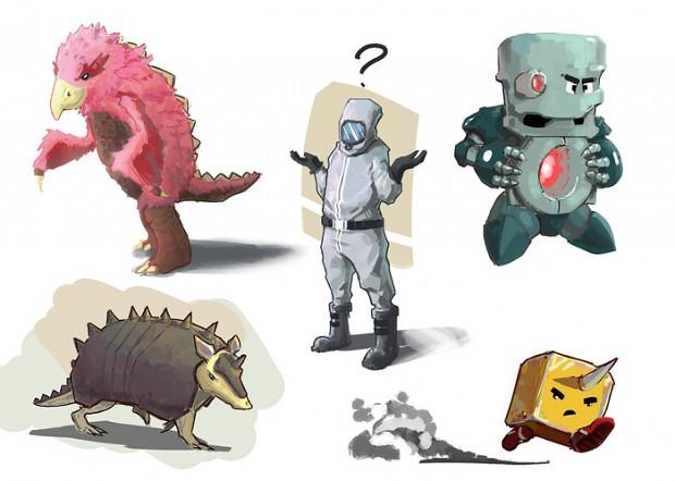 Cirbie Characters