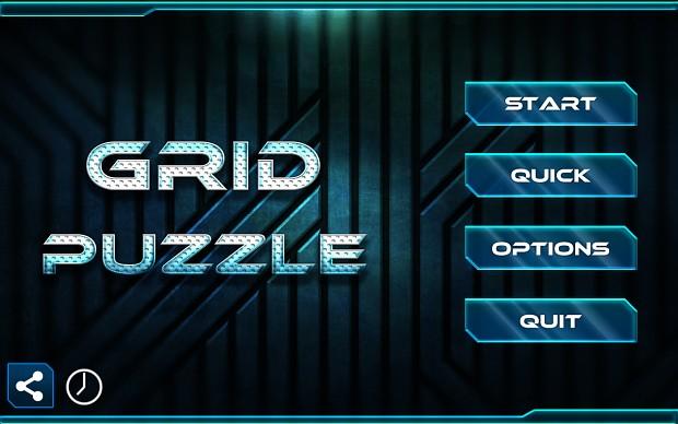 Grid Puzzle Homescreen